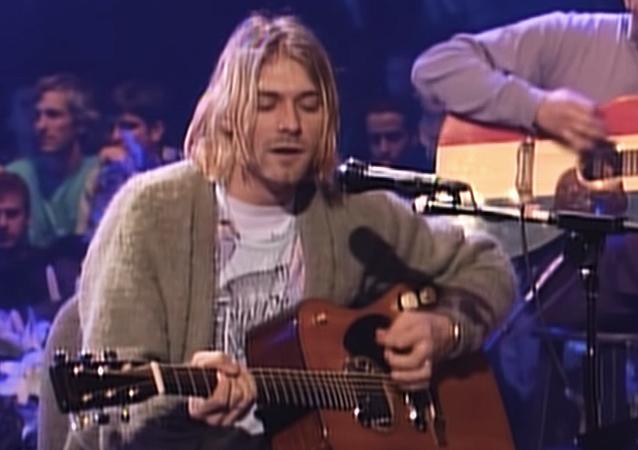Kurt Cobain en MTV Unplugged in New York