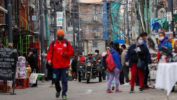 Calles de Buenos Aires durante la pandemia de coronavirus - Sputnik Mundo