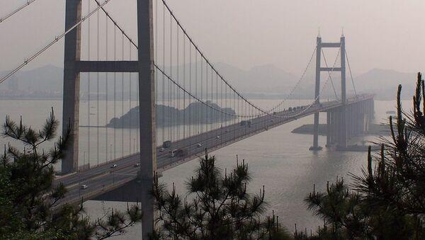 El puente sobre el río Humen en China - Sputnik Mundo