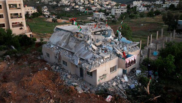 Situación en Cisjordania - Sputnik Mundo