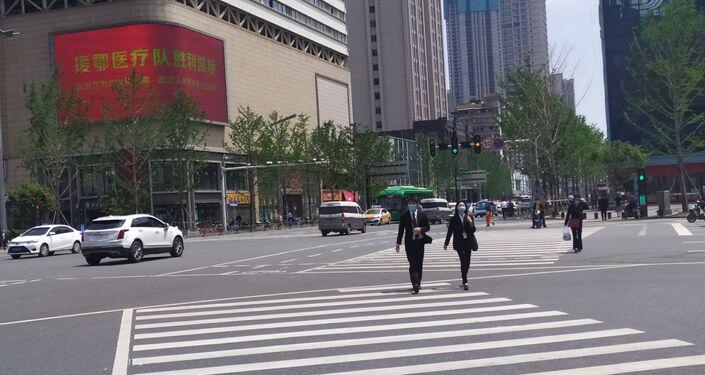 El levantamiento de la cuarentena en Wuhan, China