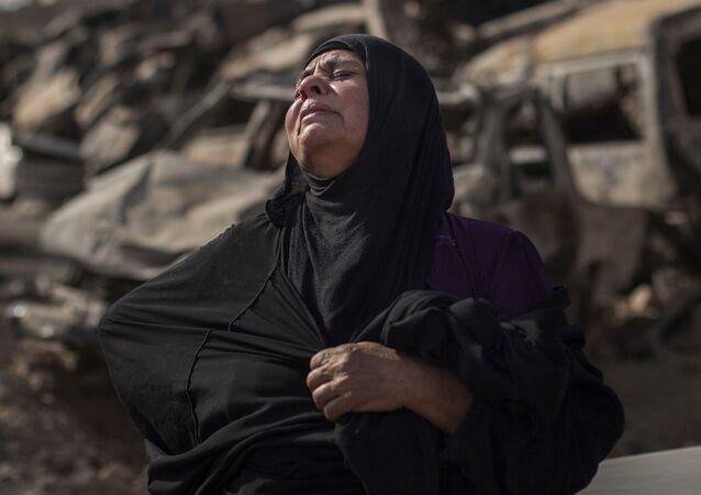 Una vecina de Mosul en 2017