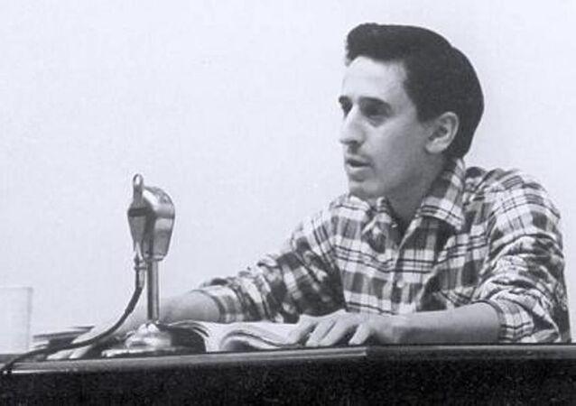 El poeta salvadoreño Roque Dalton