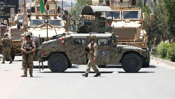 Fuerzas de Seguridad afganos en Kabul - Sputnik Mundo