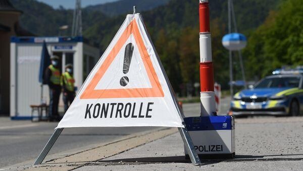 La frontera entre Alemania y Austria - Sputnik Mundo