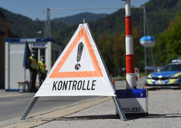 La frontera entre Alemania y Austria