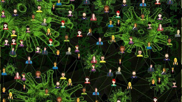 Aislamiento social durante el brote de coronavirus en el mundo (imagen referencial) - Sputnik Mundo