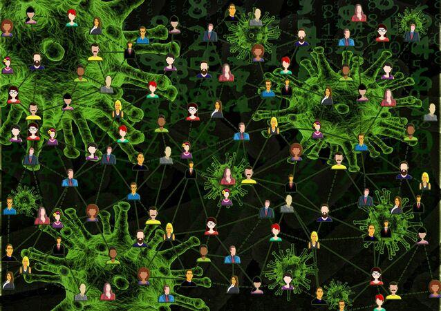 Aislamiento social durante el brote de coronavirus en el mundo (imagen referencial)