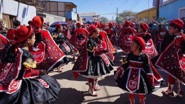 La fiesta de La Tirana en Chile - Sputnik Mundo