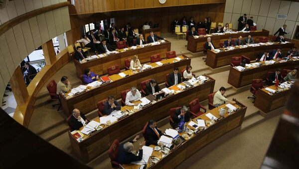El Senado de Paraguay - Sputnik Mundo