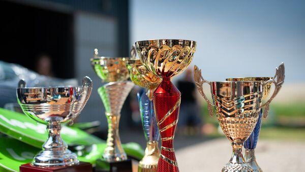 Copas. Trofeos. Imagen referencial - Sputnik Mundo