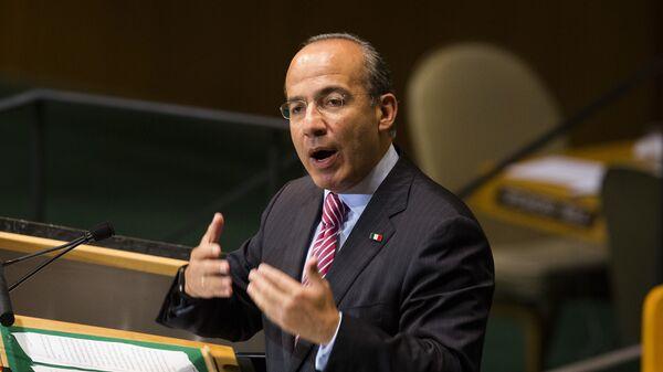 Expresidente de México Felipe Calderón - Sputnik Mundo