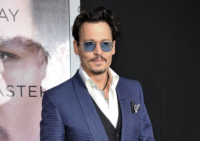 Johnny Depp, actor estadounidense