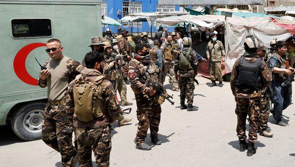 Fuerzas de Seguridad de Afganistán - Sputnik Mundo