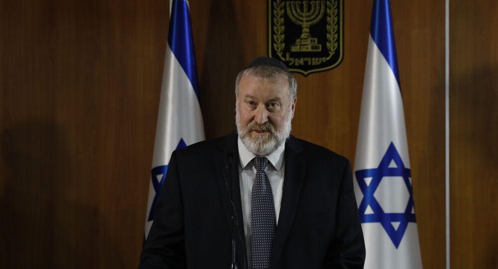 Avichai Mandelblit, abogado del estado de Israel