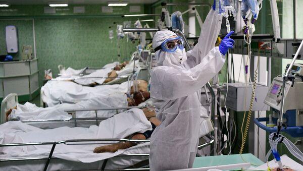 Un hospital para los enfermos con COVID-19 en la ciudad rusa de Tver - Sputnik Mundo