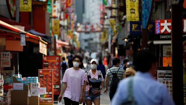 El coronavirus en Tokio - Sputnik Mundo