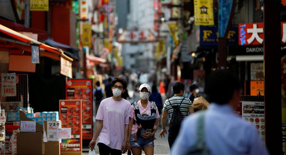 El coronavirus en Tokio