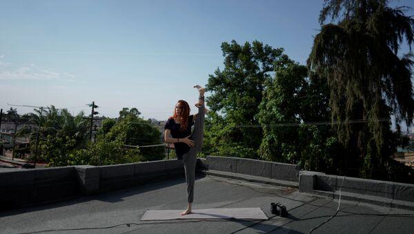 Clase de baile en directo en La Habana, Cuba - Sputnik Mundo