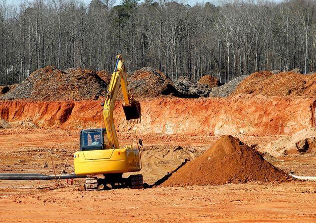 Una excavadora (imagen referencial)