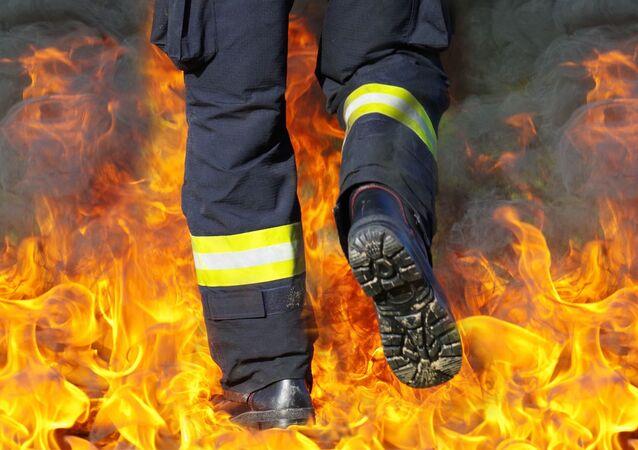 Imagen referencial bomberos