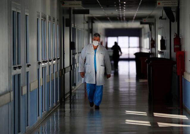 Hospital en Argentina (Archivo)