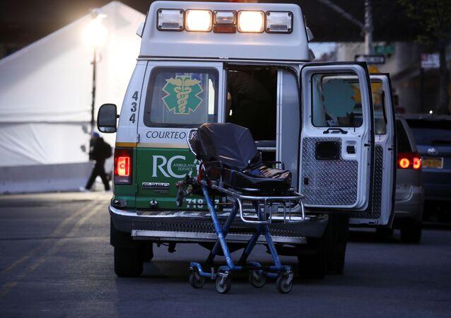 Ambulancia en Nueva York, EEUU