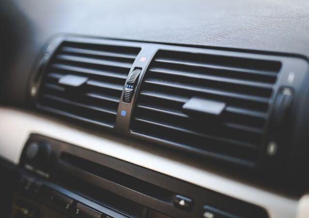 Aire acondicionado en el auto
