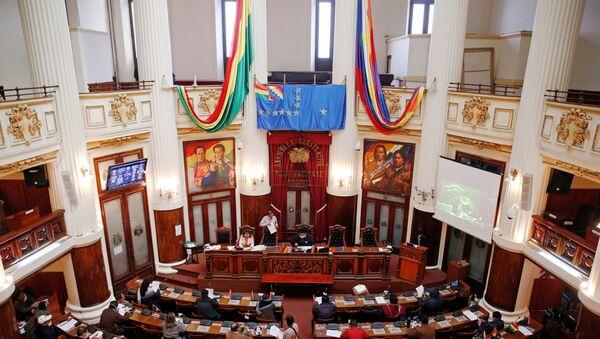 La Asamblea Legislativa Plurinacional de Bolivia - Sputnik Mundo