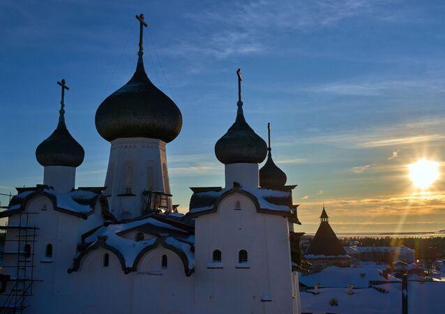 El monasterio Solovetski