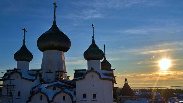 El monasterio Solovetski - Sputnik Mundo