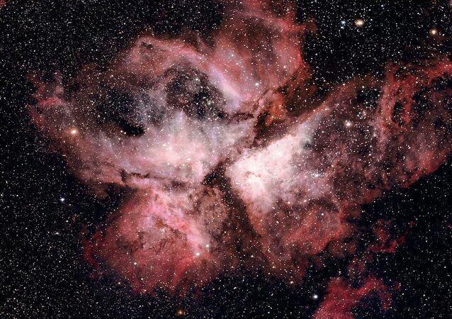 Una  imagen de la nebulosa de Carina