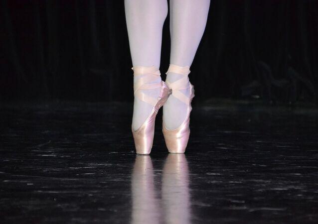Zapatillas de punta (imagen referencial)