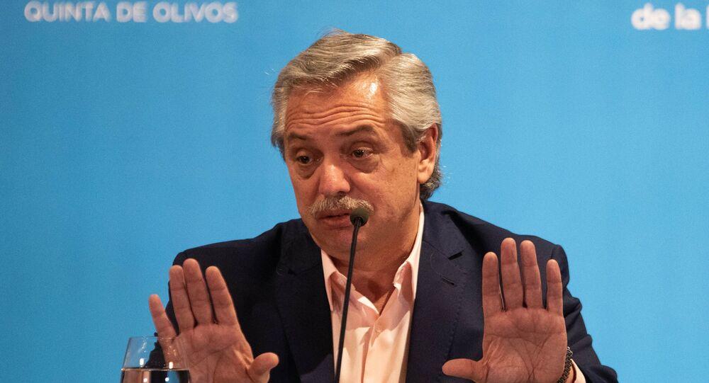 Alberto Fernández, presidente de Argentina