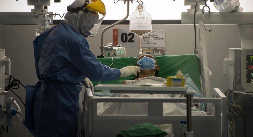 Un paciente con coronavirus en Quito, Ecuador