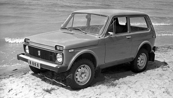 Un clasico Lada Niva 4x4 (archivo) - Sputnik Mundo