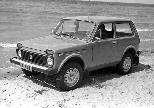 Un clasico Lada Niva 4x4 (archivo)