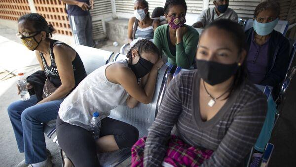Pacientes en un hospital en Caracas - Sputnik Mundo