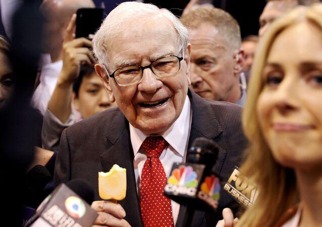 Warren Buffett, inversor y empresario estadounidense