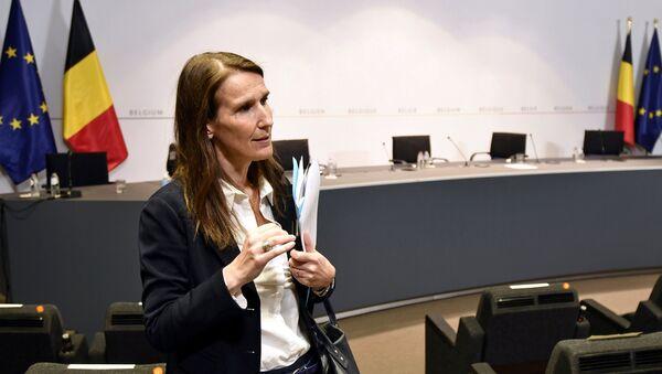 Sophie Wilmes, primera ministra belga - Sputnik Mundo