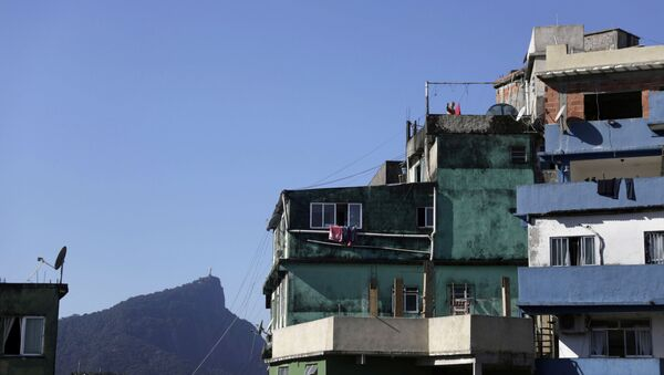 Una favela en Río de Janeiro, Brasil - Sputnik Mundo
