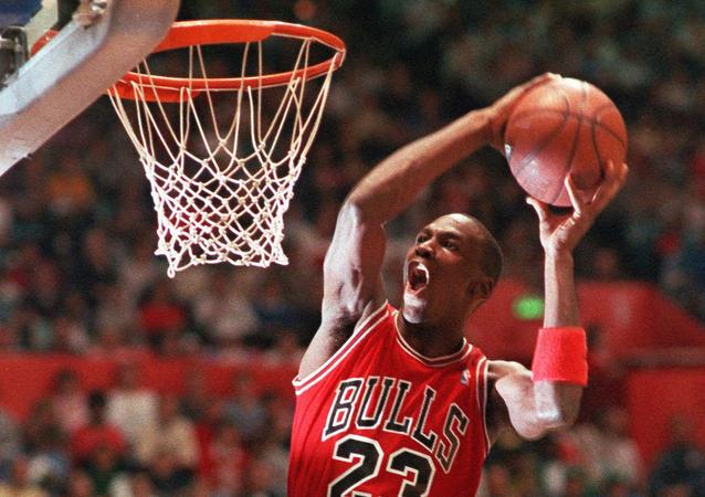 Michael Jordan, jugador de baloncesto