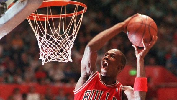 Michael Jordan, jugador de baloncesto - Sputnik Mundo