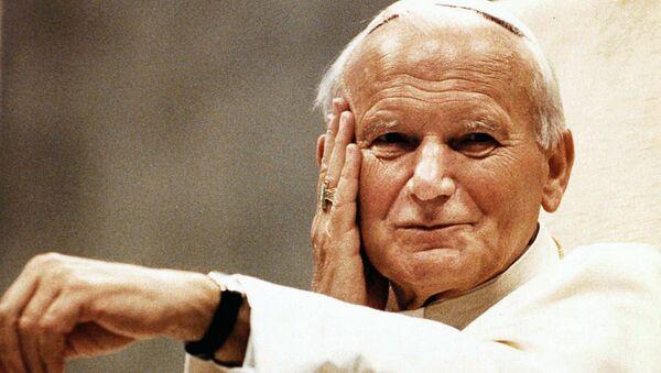 El papa Juan Pablo II en 1990 - Sputnik Mundo