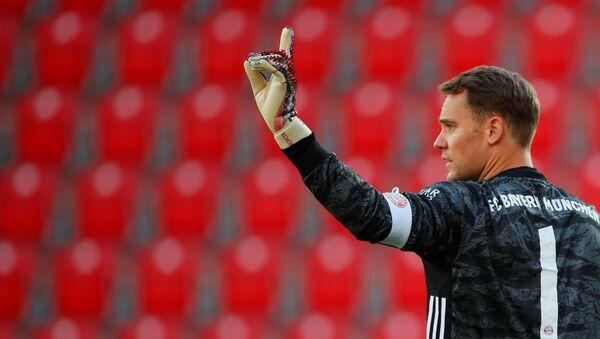 El portero de Bayern Munich, Manuel Neuer, durante el partido entre la Union Berlin y Bayern Munich - Sputnik Mundo