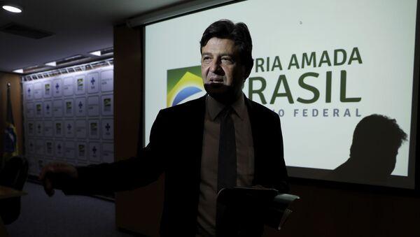 Exministro de Salud de Brasil, Luiz Henrique Mandetta - Sputnik Mundo