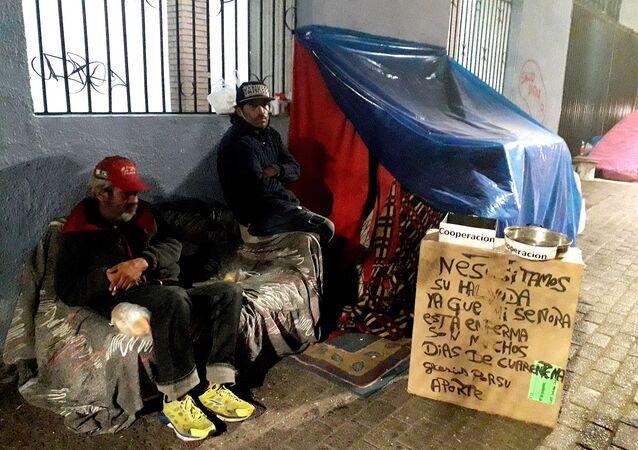 Personas en situación de calle en Chile
