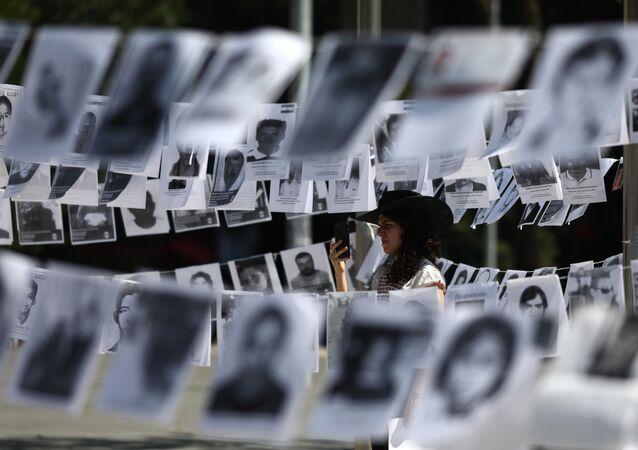 Fotos de desaparecidos en México (imagen referencial)