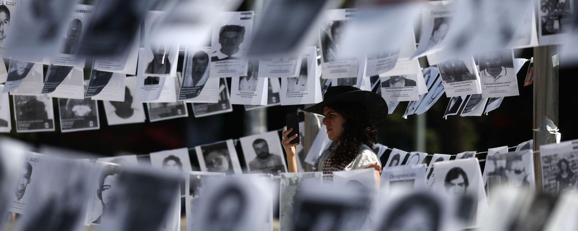 Fotos de desaparecidos en México (imagen referencial) - Sputnik Mundo, 1920, 01.06.2021