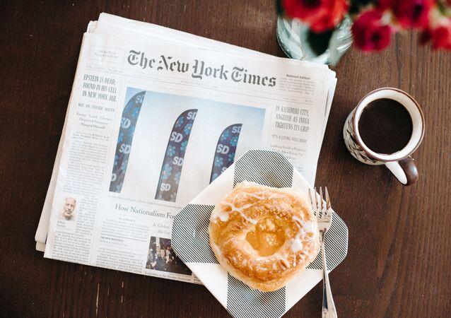 Un periódico The New York Times (imagen referencial)
